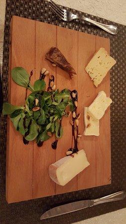 Les Caves de l'Abbaye d'Aulne : Palette de fromages