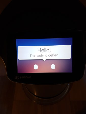 The room service robot