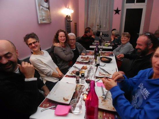 Piegut-Pluviers, Francia: les amis et moi