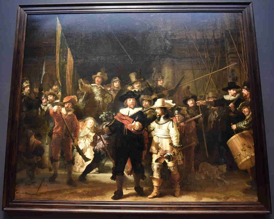 Rembrandt the Night Watch Picture of Rijksmuseum Amsterdam