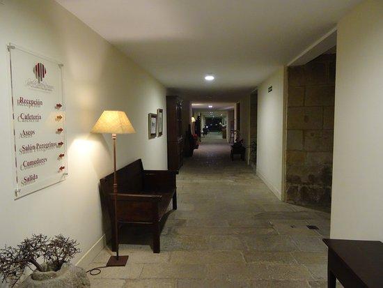 Hospederia San Martin Pinario: Entrada