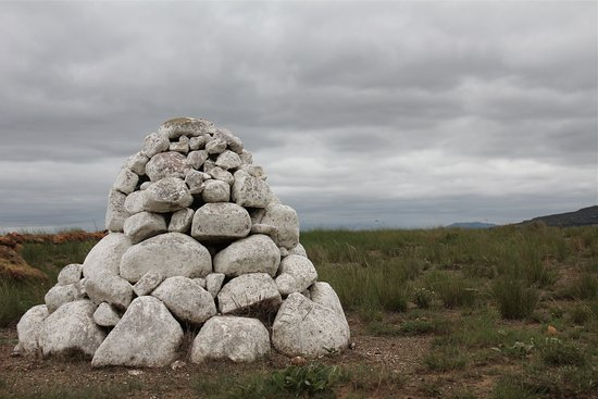 Rorke's Drift, Zuid-Afrika: Cairn of an unknown soldier
