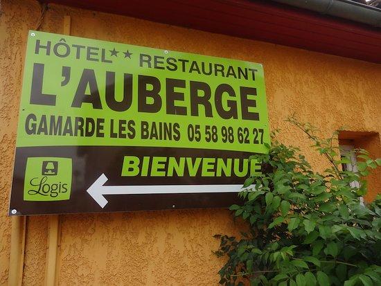 Hôtel-Restaurant L'Auberge, Gamarde-les-Bains (Landes, Nouvelle Aquitaine), France.