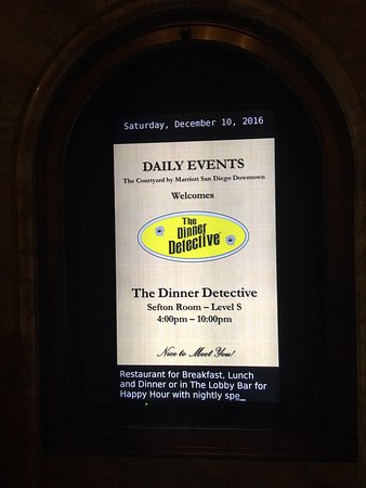 The Dinner Detective San Diego