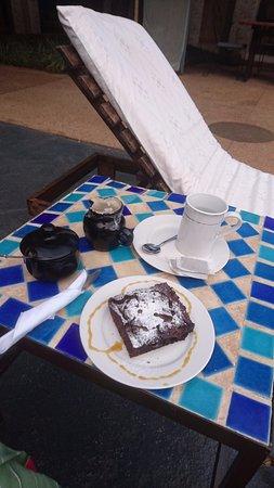 Madidi Lodge: Yummy brownie :)