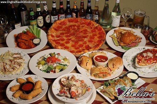 Bella s Italian Restaurant Boone Restaurant Reviews Phone Number