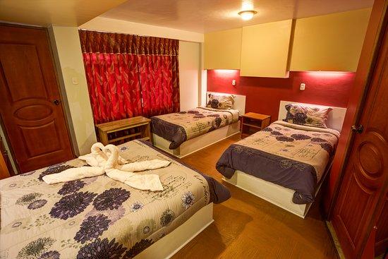 El Mariscal Cusco: Habitación triple