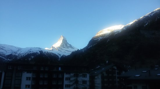 Hotel Dufour Alpin Zermatt: 20161210_085924_large.jpg