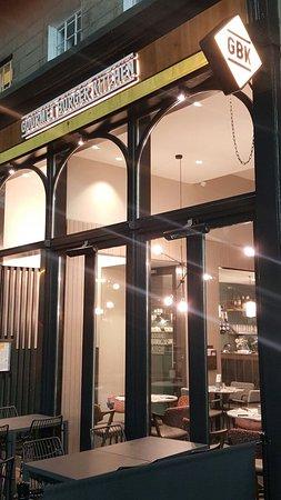 Gourmet Burger Kitchen: Gourmet Burguer Kitchen - Edinburgh