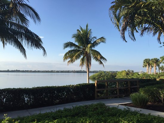 Port Saint Lucie, فلوريدا: Вид из ресторана