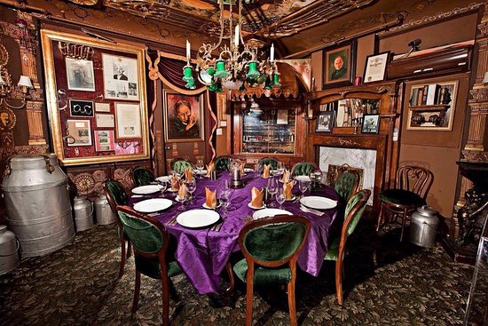 The Houdini Dining Room Picture of The Magic Castle Los Angeles