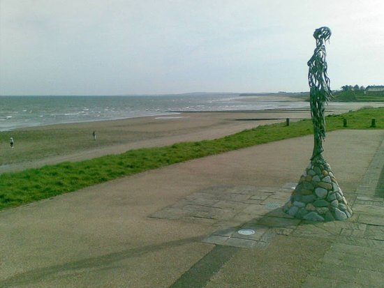 Drogheda, Ireland: Laytown beach
