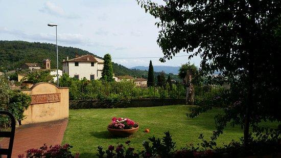 Il Casale Del Madonnino: Blick vom Appartement auf Iano