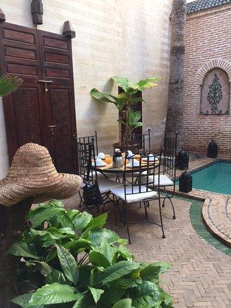 Riad Amira : Cour intérieure