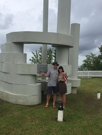 Castara Retreats: In a way to Airport (Curland monument)