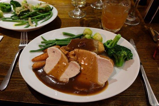 the cradock arms roast turkey breast