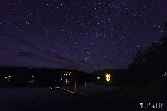 Lake Five Resort: The stars are breathtaking. *This photo is property of Angelica Doucette Photography*