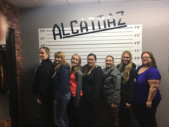 Alcatraz Hamilton Escape Room