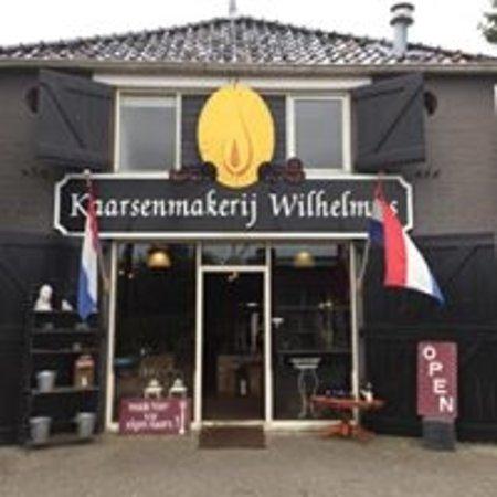 Eenrum, Pays-Bas : Kaarsenmakerij Wilhelmus