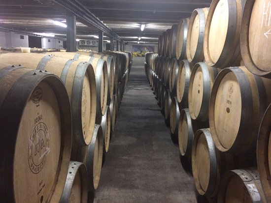Auckland Fine Wine & Food Tours: Visiting the barrel room