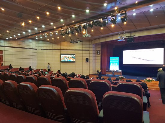 Olympic Hotel: The conference hall