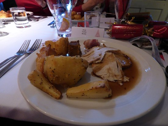 the swan hotel restaurant yummy roast turkey xmas lunch