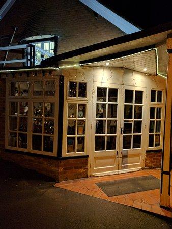 Cherwell Boathouse Restaurant: Cherwell Boathouse in December