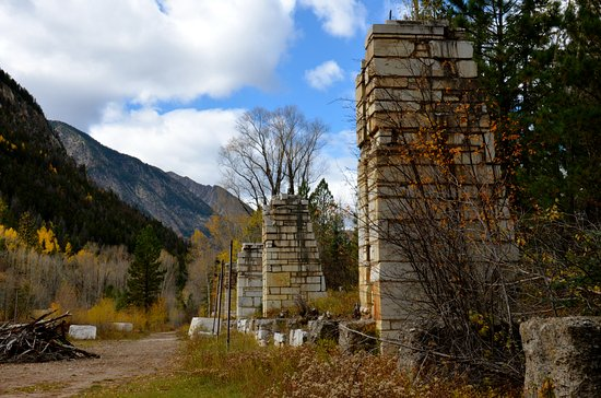 Marble, CO: The old Mill site...super interesting!