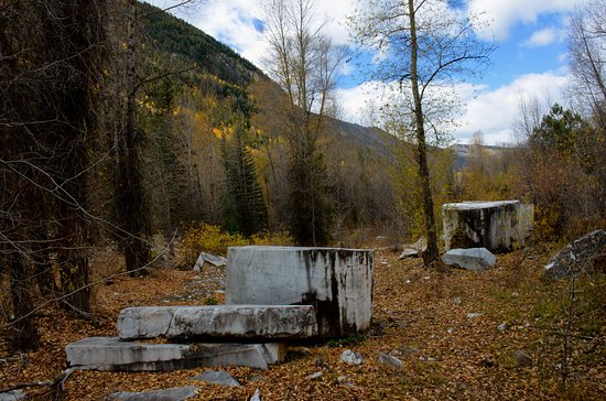 Marble, CO: The old mill site