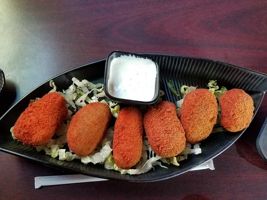 Pomona, CA: Jalapeño poppers  Hot and not too spicy. Crispy