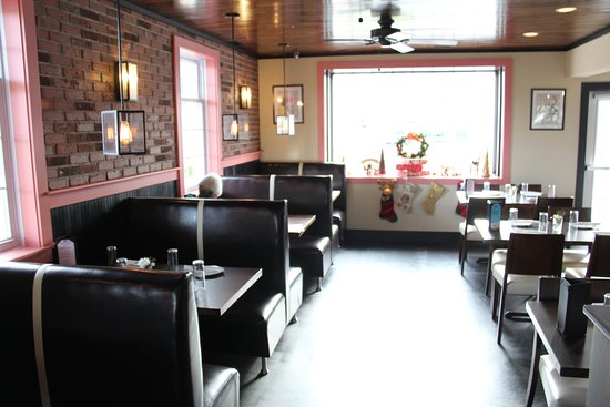 Pink Basil Large Dining Area With Booths Tables And