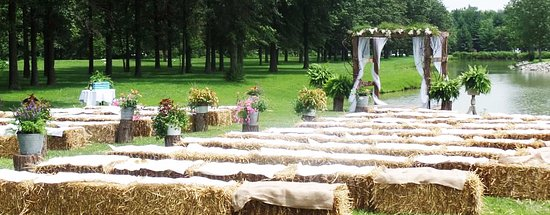 Carlyle, IL: How about an island wedding?