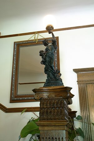 Newel post light picture of beall mansion tour alton tripadvisor beall mansion tour newel post light aloadofball Image collections