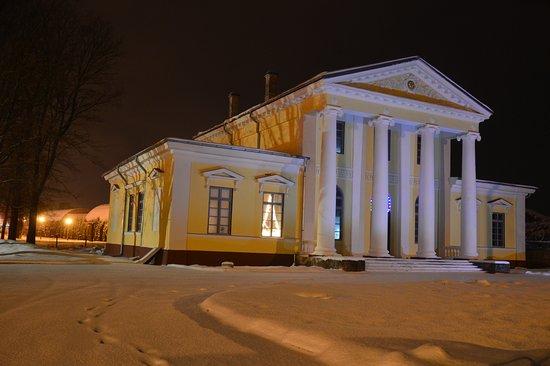Jelgava, Letonia: Вилла Медем (Villa Medem, 1818), резиденция Жанно Медема в Елгаве.