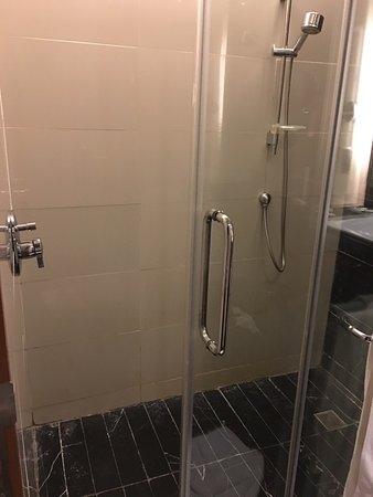 Radisson Blu Cebu: Shower Floor Has Rough Area So It Will Not Be Slippery  For
