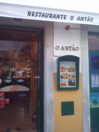 O Antao : la entrada