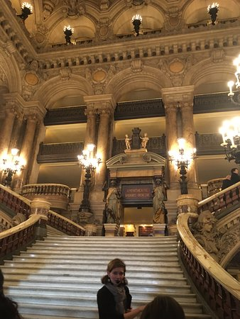 palais garnier opera national de paris escaleras interiores