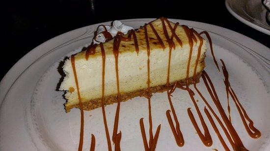 Yorkville, IL: Blackstone Grill Creme Brule Cheesecake