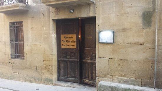 Uncastillo, Espagne : Entrada a la posada