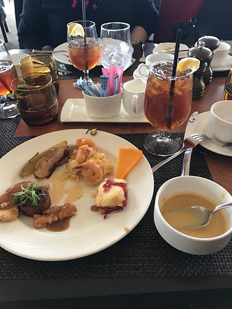 you will not regret the christmas brunch at the circular the hotel hershey food
