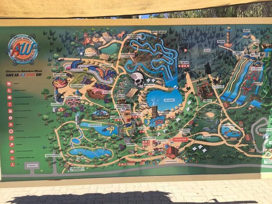 Map of the place Picture of Adventure World Perth Australia Bibra