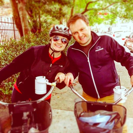 Confederacy of Cruisers Bike Tours : On our Honeymoon...What Better Way to Celebrate That with Booze and Bikes?