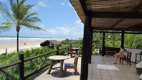 Aldeia da Mata Eco-Lodge: Bar da Praia!