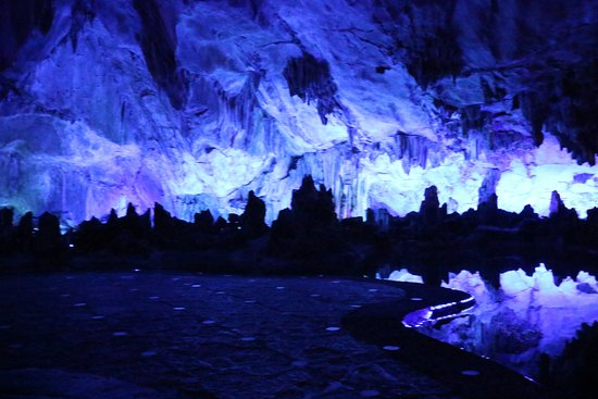 Xuyong County, China: Fairy caves