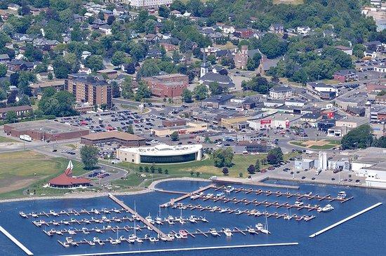 Quinte West, Kanada: Trent Port Marina Aerial View