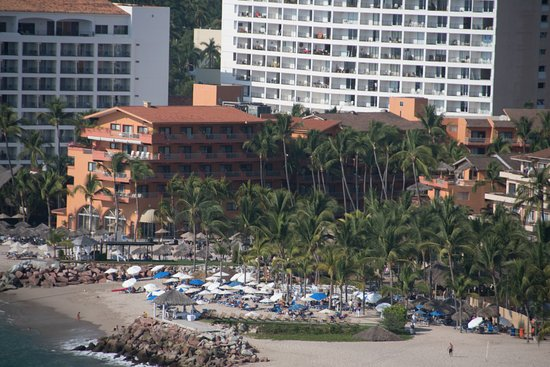 Villa del Palmar Beach Resort & Spa: Aerial view from parasailing