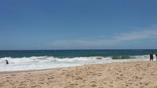 Nacional Inn Salvador : Praia em frente ao hotel.