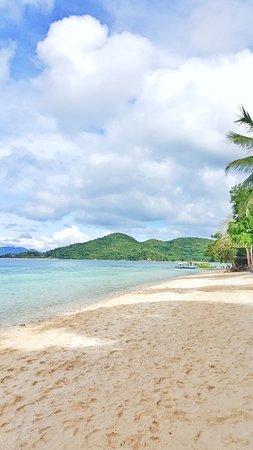 Banana Island: beach