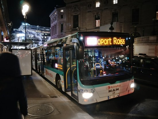 bus will indicate roissybus cdg billede af roissybus paris tripadvisor. Black Bedroom Furniture Sets. Home Design Ideas