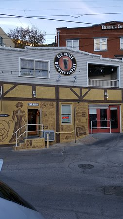 Old Bisbee Brewing Company: Outside view of brewery